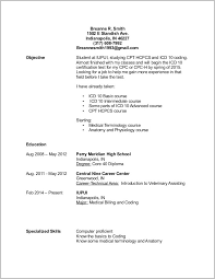 billing resume exles billing and coding specialist resume sle resume