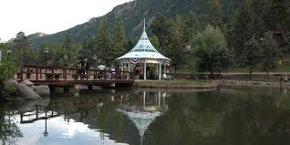 Wedding Venues In Colorado Springs Town Of Green Mountain Falls Park Gazebo Island Weddings