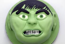 making an incredible hulk cake youtube