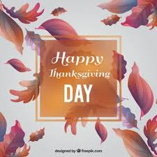 thanksgiving day card of leaves with different designs vector