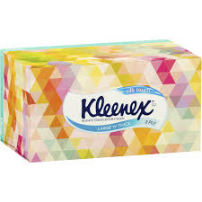 kleenex tissues large thick silk touch 3ply 95pk woolworths