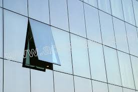 fabrication and engineering aluminum glass curtain wall with top