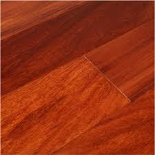 santos mahogany 3 4 x 3 x 1 7 clear prefinished flooring