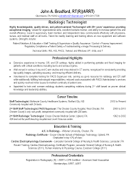 Examples Of Medical Resumes Mri Tech Resume Sample Sample Resume Medical Referral Healthcare