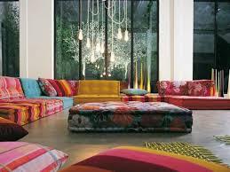 canape boheme sofa modulaire par roche bobois le look bohème par excellence