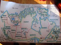 Map Of Canada Provinces by Map Of Canada Provinces And Capitals