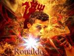 Cristiano Bronaldo Wallpaper B Fire Football Bwallpaper B