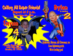 design for spiderman birthday invitation u2014 liviroom decors