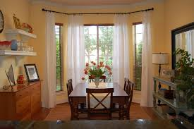 Window Treatments For Bay Windows In Dining Rooms by Old Fashioned Curtain Rods Exceptional Home Decor For Bay Windows