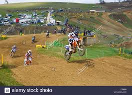motocross race motocross race action sevlievo bulgaria stock photo royalty free