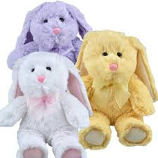 stuffed bunnies for easter greenbrier plush floppy eared easter bunny random color