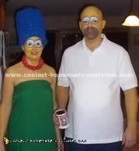 Marge Simpson Halloween Costume Coolest Homemade Simpsons Halloween Costumes
