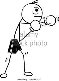 boxer dog in boxing gloves cartoon boxer stock photos u0026 cartoon boxer stock images alamy
