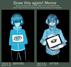 Draw It Again Meme - draw this again meme by vuve on deviantart