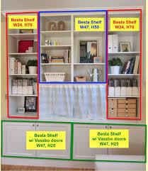 Inbuilt Bookshelf Besta Built In Family Room Bookshelf And Tv Unit Ikea Hackers