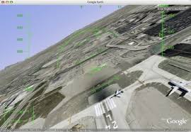 Google Earth Flight Sim