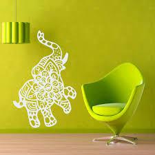 Wall Decals Mandala Ornament Indian by Online Get Cheap Elephant Wall Art Buddha Aliexpress Com