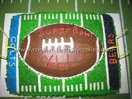 Super Bowl Decorating Ideas 104 Best The Game U0027s On Cakes Images On Pinterest Football Food