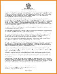Special Power Of Attorney Form by 11 Wisconsin Power Of Attorney Forms Action Plan Template