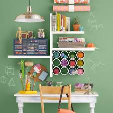 Wall Desk Ideas Customized Desk And Storage