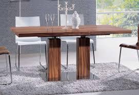 furniture gorgeous elegant sleek wood dining table eclipse