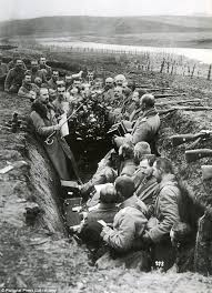 british soldier shared u0027cigs and jam with the germans in 1914