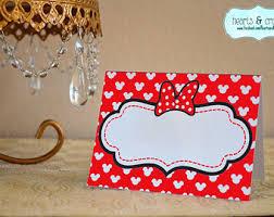 minnie mouse card table minnie table cards etsy