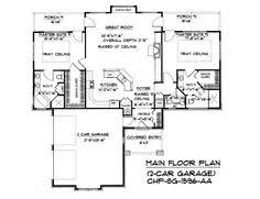 House Plans With Dual Master Suites by Welker Design 29354 Craftsman Home Plan Design Basics
