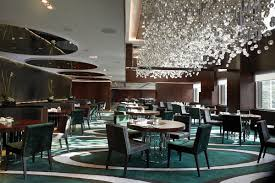 luxury restaurant chandeliers design the mira hotels zeospot com
