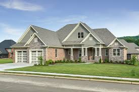 Craftsman Ranch Floor Plans Brick Stone And Shake The Wilkerson Plan 1296 Built By Mccoy