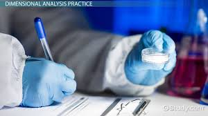 what is dimensional analysis in chemistry definition method