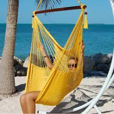 hammocks chair large yellow by the caribbean hammocks store of usa