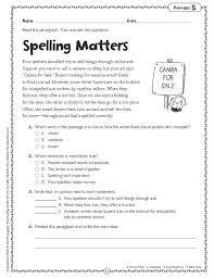 comprehension skills short passages for close reading grade 5