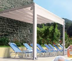 Motorized Pergola Cover by Retractable Roof Systems