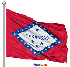 Flag White On Top Red On Bottom Arkansas Flag Colors Arkansas Flag Meaning
