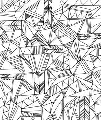 get this printable geometric coloring pages for adults 67381