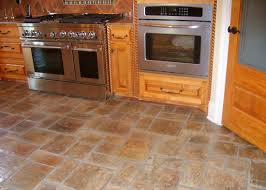 Marble Kitchen Floor by Kitchen Floor Tile White Stainless Steel Barstool Maple Wood