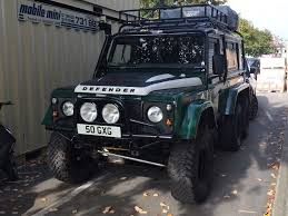 land rover rear land rover defender 110 6x6 u2022 heavy duty custom galvanised chassis