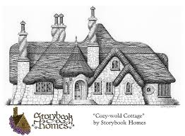 one story cottage plans one story cottage design by storybook homes a cottage plan found