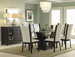homelegance daisy dining table with glass top 710 72