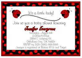 ladybug baby shower invitation theruntime com