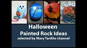 halloween paintings ideas halloween painted rock ideas fall crafts to make and sell youtube