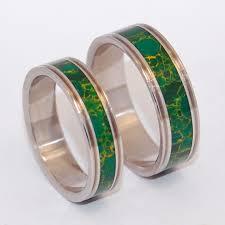 jade engagement ring wedding rings inox steel jade eco friendly ring