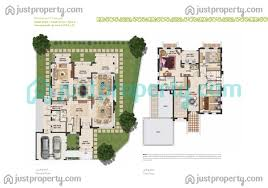 villa floor plan mudon rahat villas floor plans justproperty com