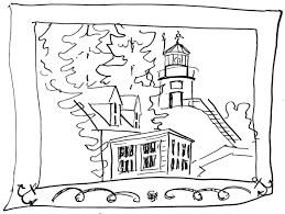 rocky point lighthouse clipart 9