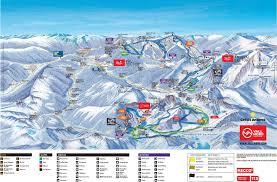 Andorra Map Arinsal Piste Map Iglu Ski