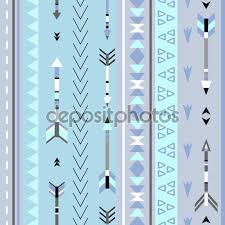 Tribal Print Wallpaper by Tribal Arrows Boho Seamless Pattern Ethnic Geometric Print