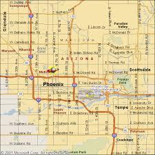 az city map city map arizona mappery