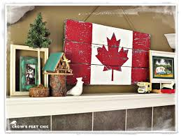 home decor parties canada crow u0027s feet chic gearing up for canada day great for 4th of