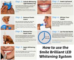how to use teeth whitening kit with light smile brilliant led teeth whitening review bay area mommy